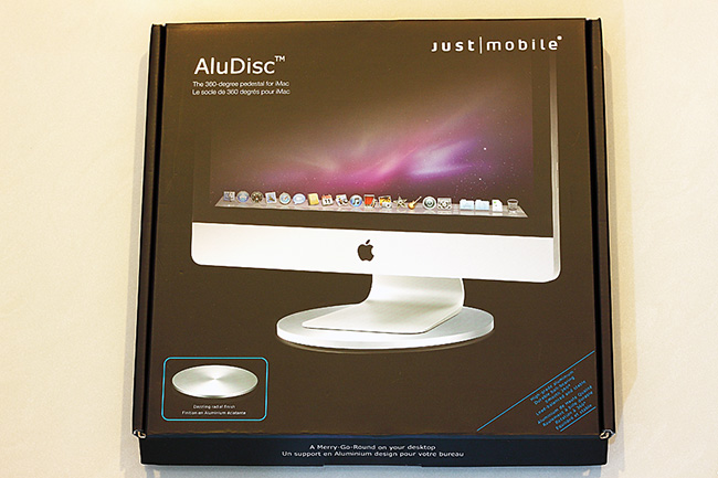 讓 iMac 從此輕盈旋轉的 Just Mobile AluDisc by Jerry HSU